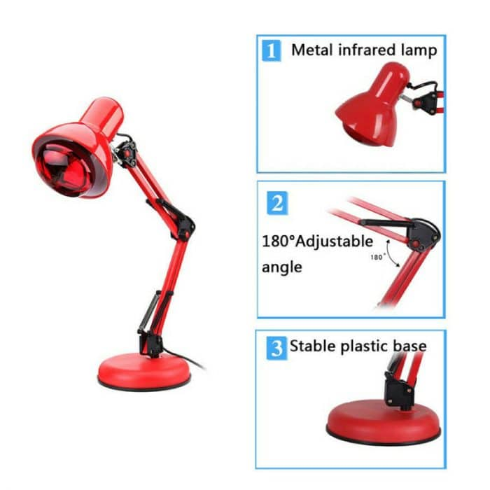 Red Heat Light Therapeutic Lamp 6